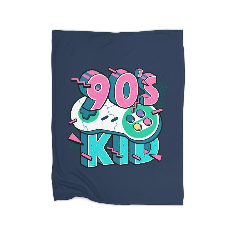 90's Kid Home Blanket by Mountain View Co