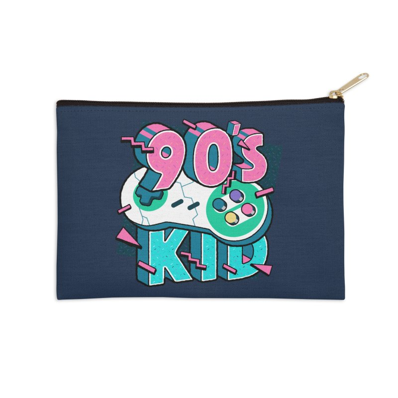 90's Kid Accessories Zip Pouch by Mountain View Co