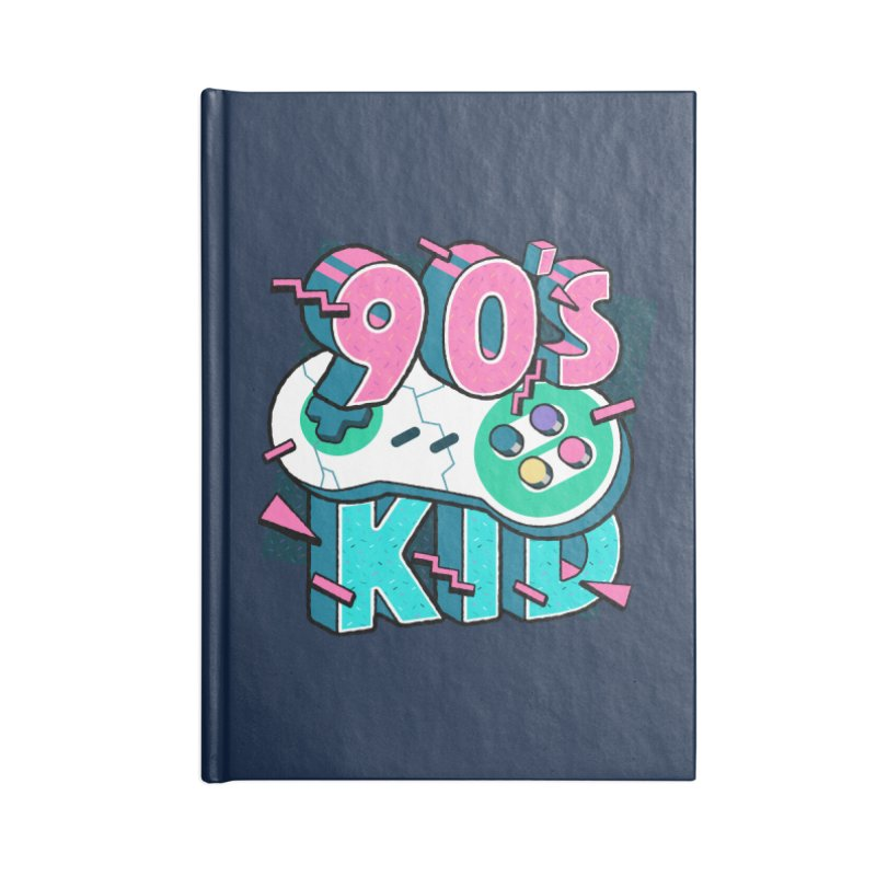 90's Kid Accessories Lined Journal Notebook by Mountain View Co