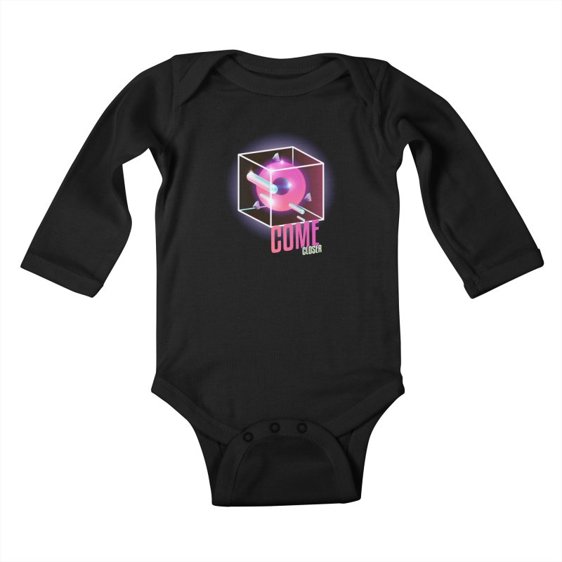 Come Closer (The Anomaly) Kids Baby Longsleeve Bodysuit by Mountain View Co