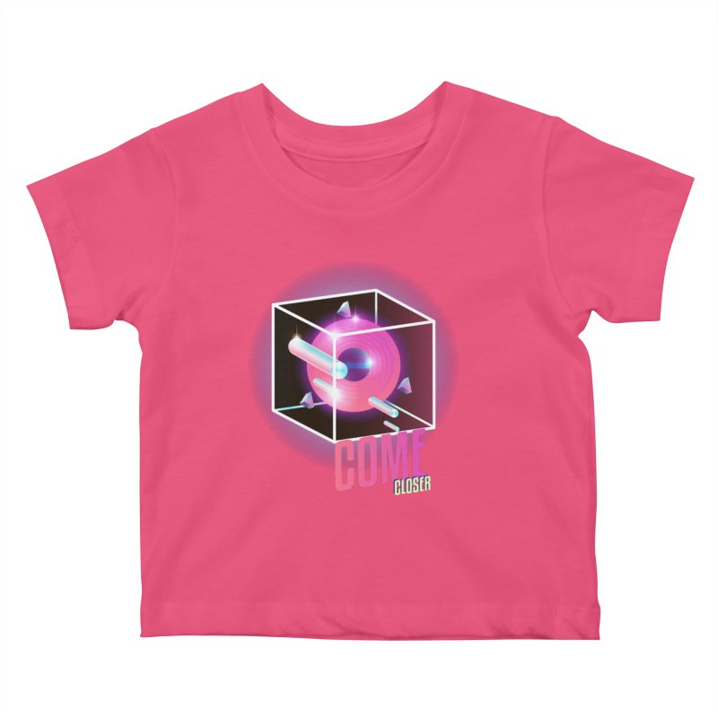 Come Closer (The Anomaly) Kids Baby T-Shirt by Mountain View Co