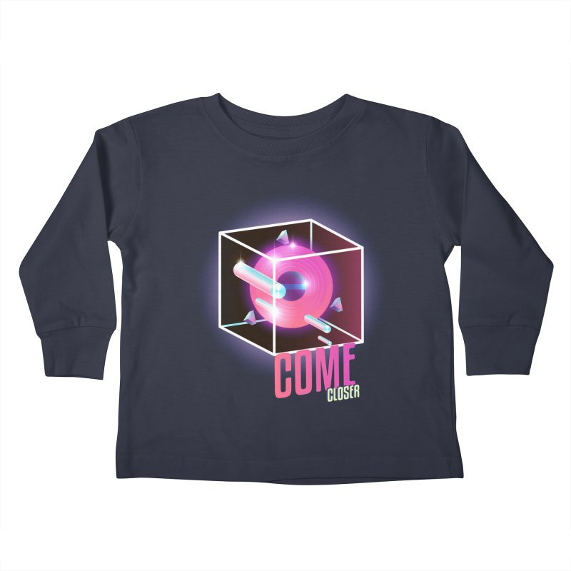 Come Closer (The Anomaly) Kids Toddler Longsleeve T-Shirt by Mountain View Co