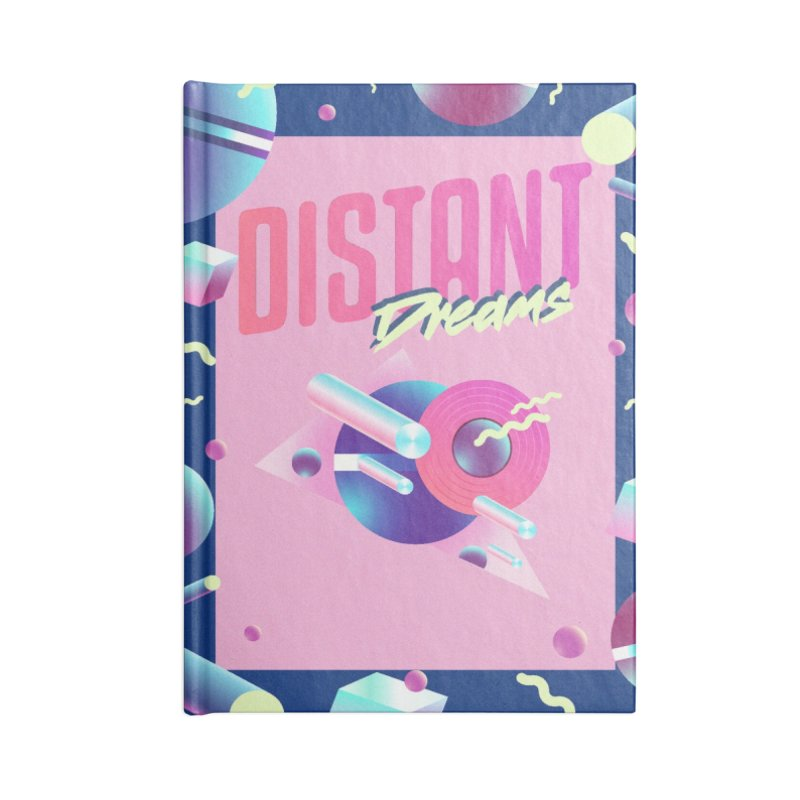 Distant Dreams Accessories Lined Journal Notebook by Mountain View Co