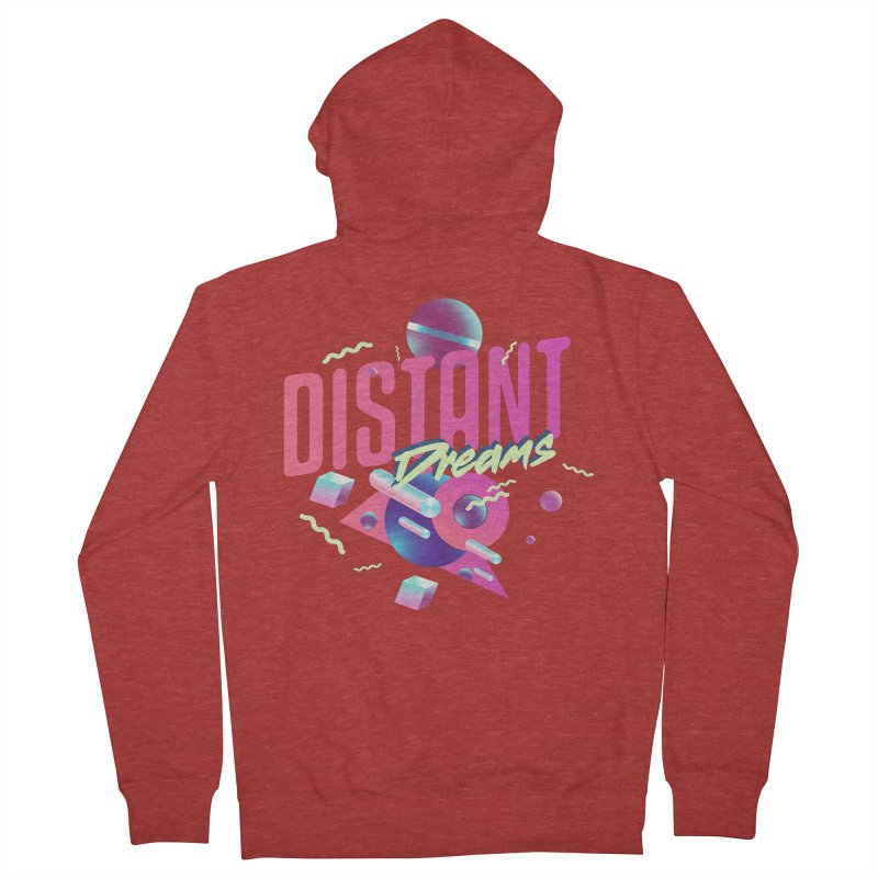 Distant Dreams Women's French Terry Zip-Up Hoody by Mountain View Co