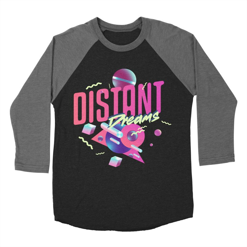 Distant Dreams Women's Baseball Triblend Longsleeve T-Shirt by Mountain View Co
