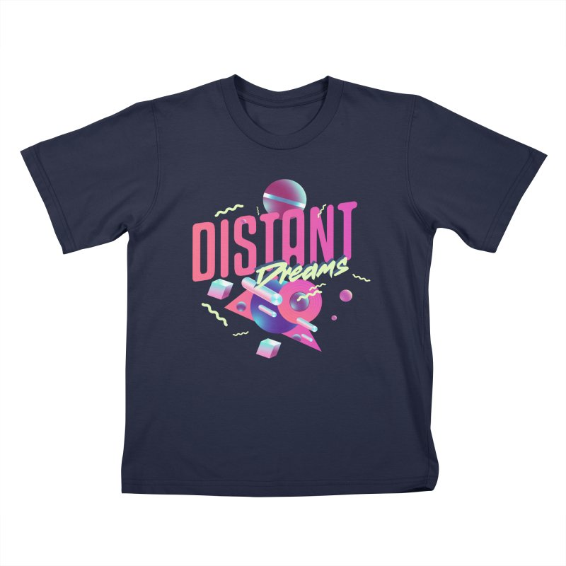 Distant Dreams Kids T-Shirt by Mountain View Co