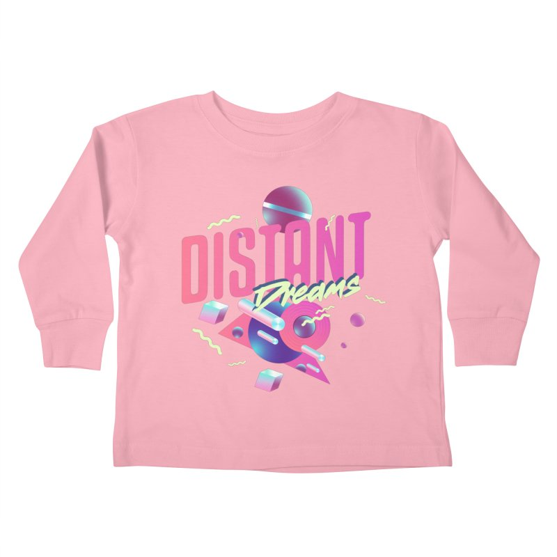 Distant Dreams Kids Toddler Longsleeve T-Shirt by Mountain View Co