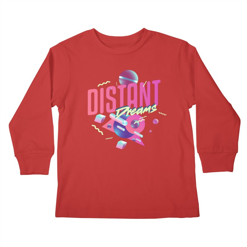 Distant Dreams Kids Longsleeve T-Shirt by Mountain View Co