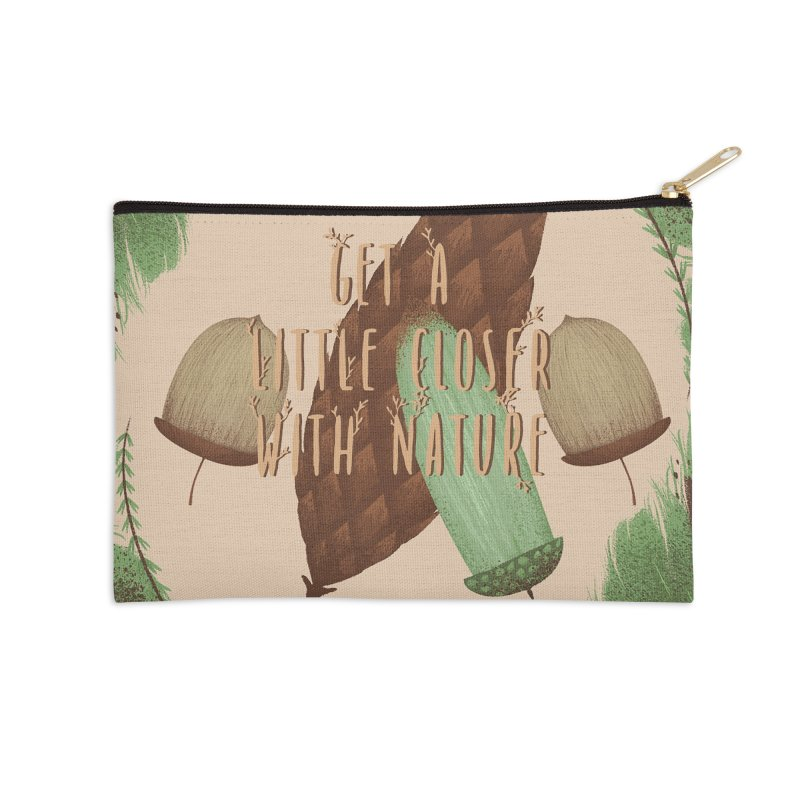 Get A Little Closer With Nature Accessories Zip Pouch by Mountain View Co