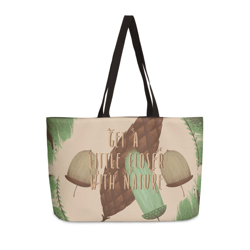 Get A Little Closer With Nature Accessories Weekender Bag Bag by Mountain View Co