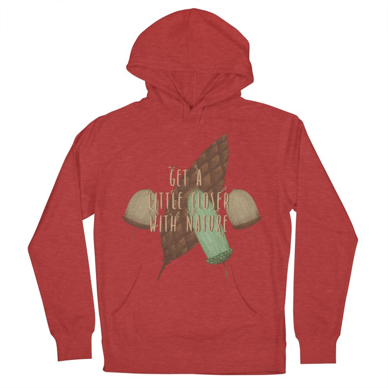 Get A Little Closer With Nature Women's French Terry Pullover Hoody by Mountain View Co