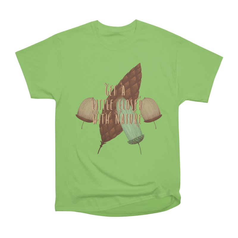 Get A Little Closer With Nature Women's Heavyweight Unisex T-Shirt by Mountain View Co