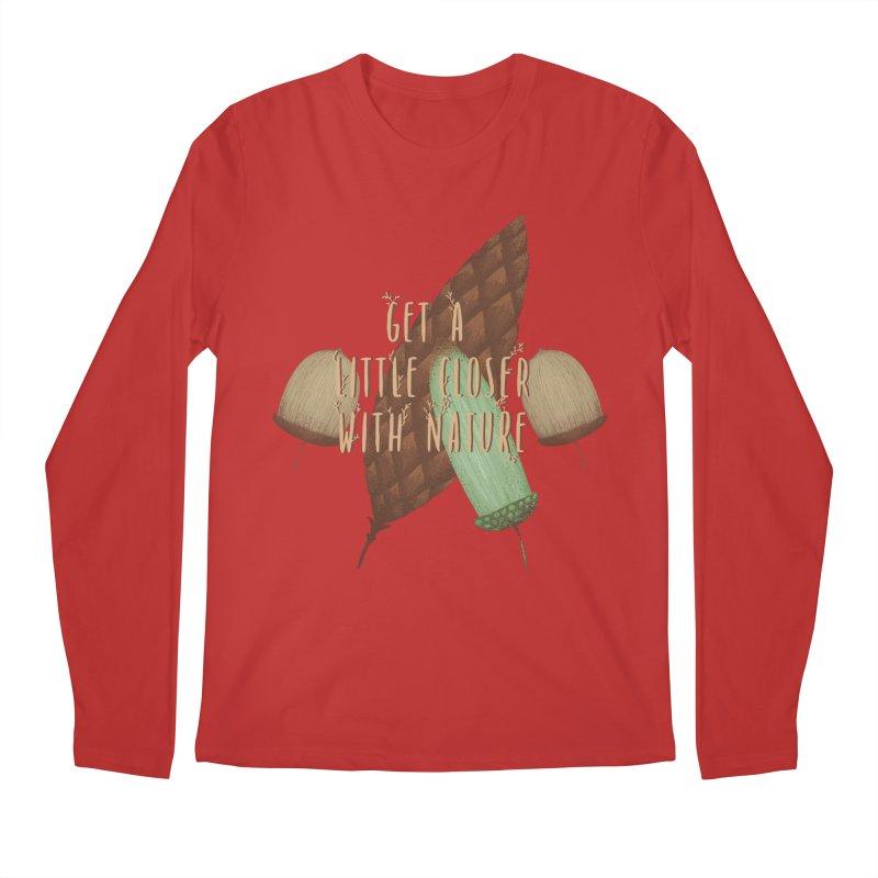Get A Little Closer With Nature Men's Regular Longsleeve T-Shirt by Mountain View Co