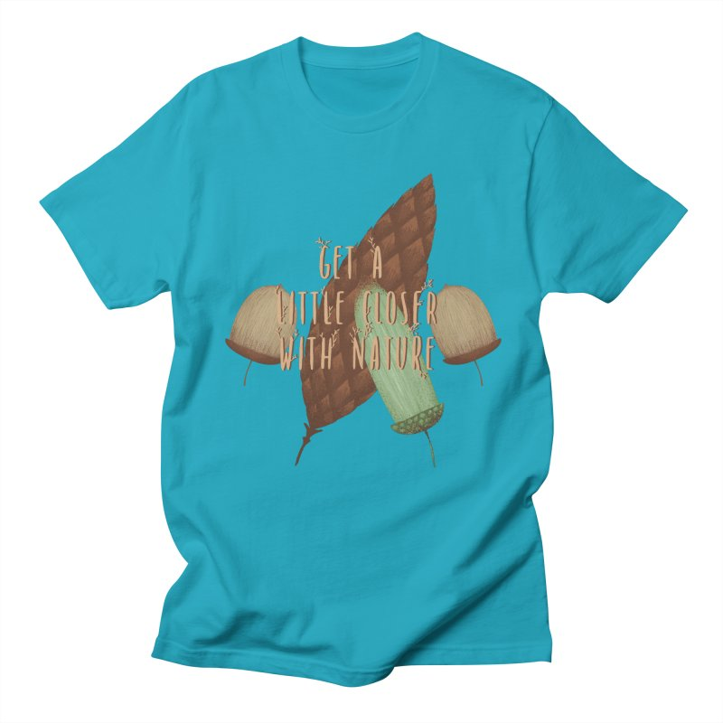 Get A Little Closer With Nature Men's Regular T-Shirt by Mountain View Co