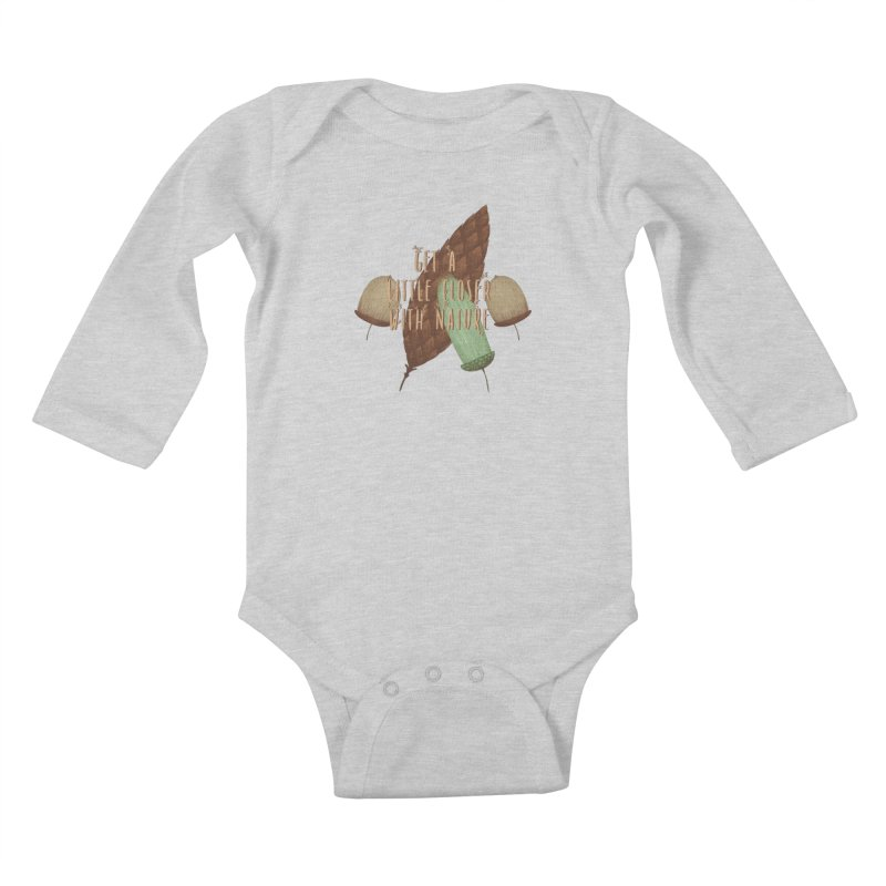 Get A Little Closer With Nature Kids Baby Longsleeve Bodysuit by Mountain View Co