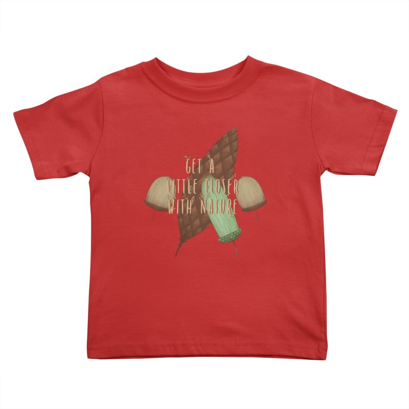 Get A Little Closer With Nature Kids Toddler T-Shirt by Mountain View Co