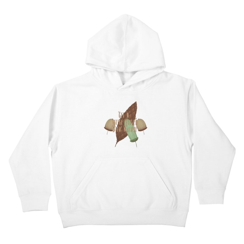 Get A Little Closer With Nature Kids Pullover Hoody by Mountain View Co