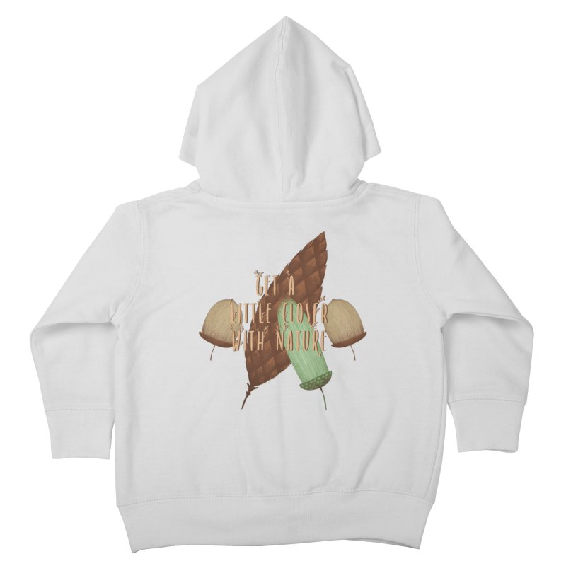 Get A Little Closer With Nature Kids Toddler Zip-Up Hoody by Mountain View Co