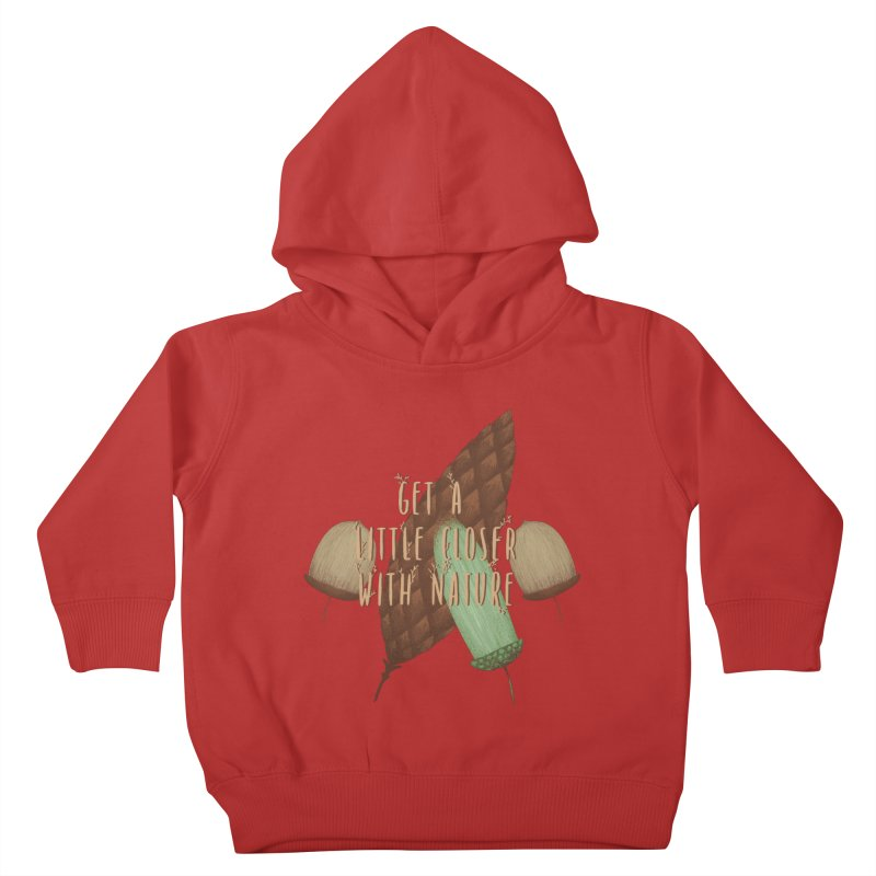 Get A Little Closer With Nature Kids Toddler Pullover Hoody by Mountain View Co