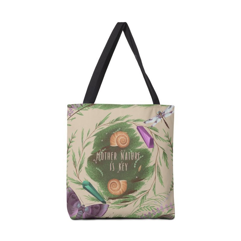 Mother Nature Is Key Accessories Bag by Mountain View Co