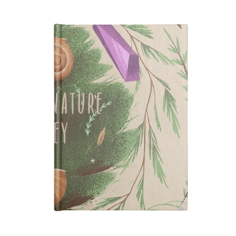 Mother Nature Is Key Accessories Lined Journal Notebook by Mountain View Co