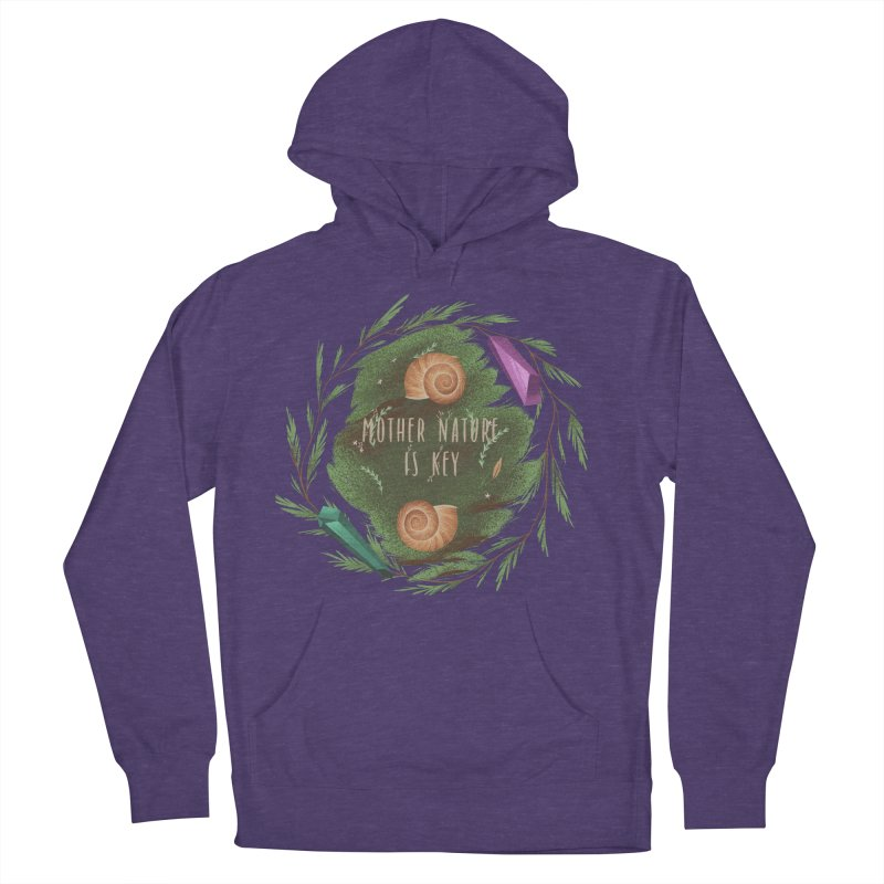 Mother Nature Is Key Women's French Terry Pullover Hoody by Mountain View Co