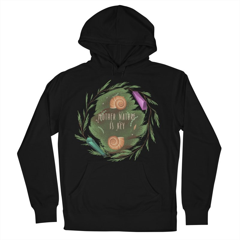 Mother Nature Is Key Men's French Terry Pullover Hoody by Mountain View Co