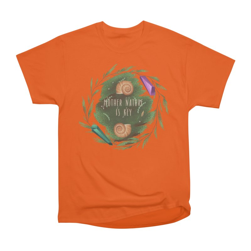 Mother Nature Is Key Women's Heavyweight Unisex T-Shirt by Mountain View Co