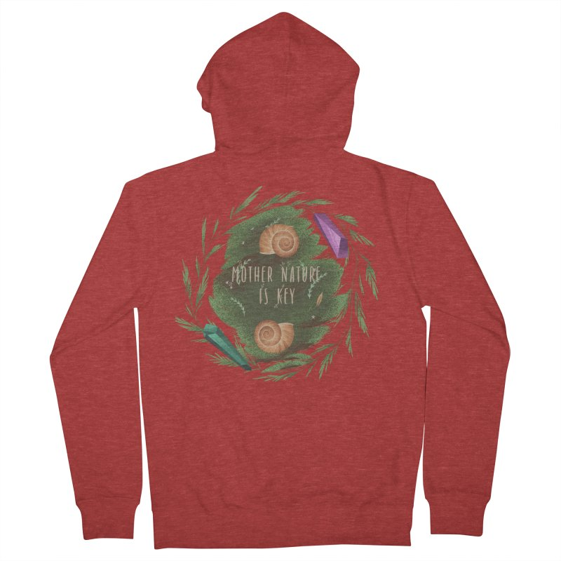 Mother Nature Is Key Women's French Terry Zip-Up Hoody by Mountain View Co