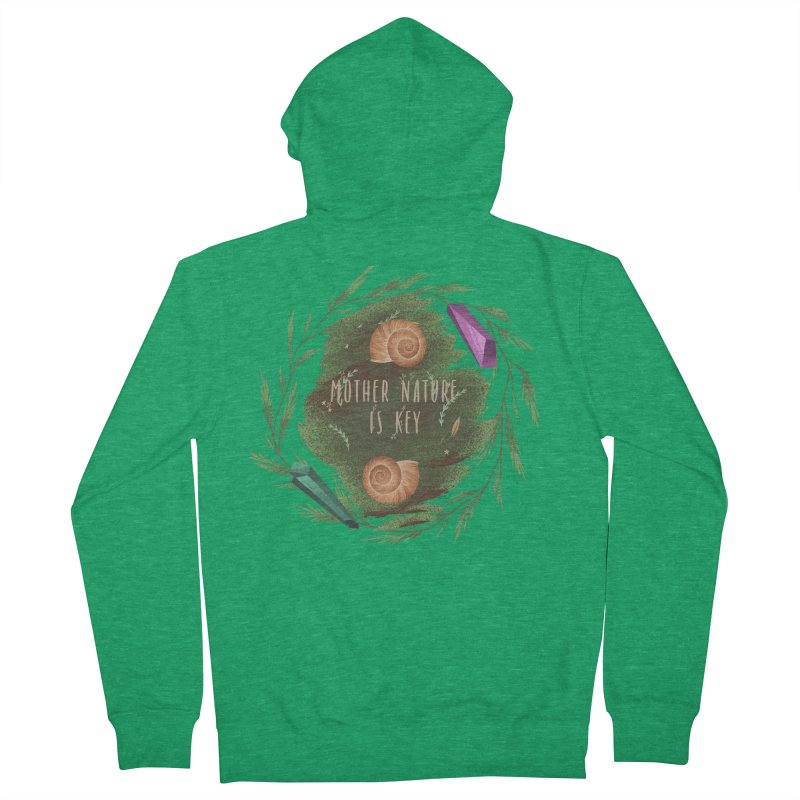 Mother Nature Is Key Men's Zip-Up Hoody by Mountain View Co