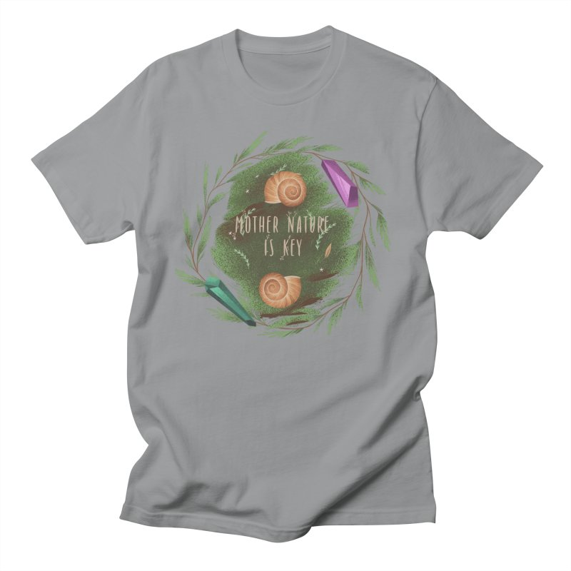 Mother Nature Is Key Women's Regular Unisex T-Shirt by Mountain View Co