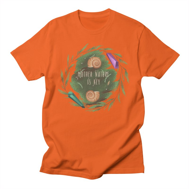 Mother Nature Is Key Men's Regular T-Shirt by Mountain View Co