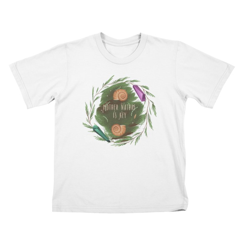 Mother Nature Is Key Kids T-Shirt by Mountain View Co