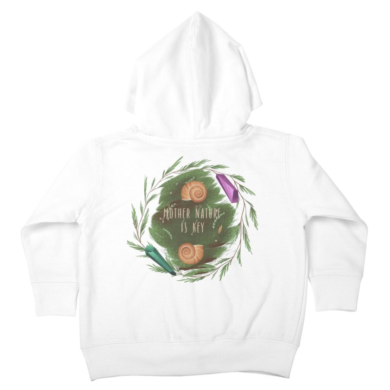 Mother Nature Is Key Kids Toddler Zip-Up Hoody by Mountain View Co