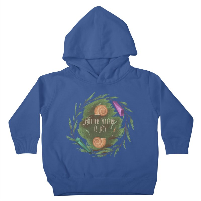 Mother Nature Is Key Kids Toddler Pullover Hoody by Mountain View Co