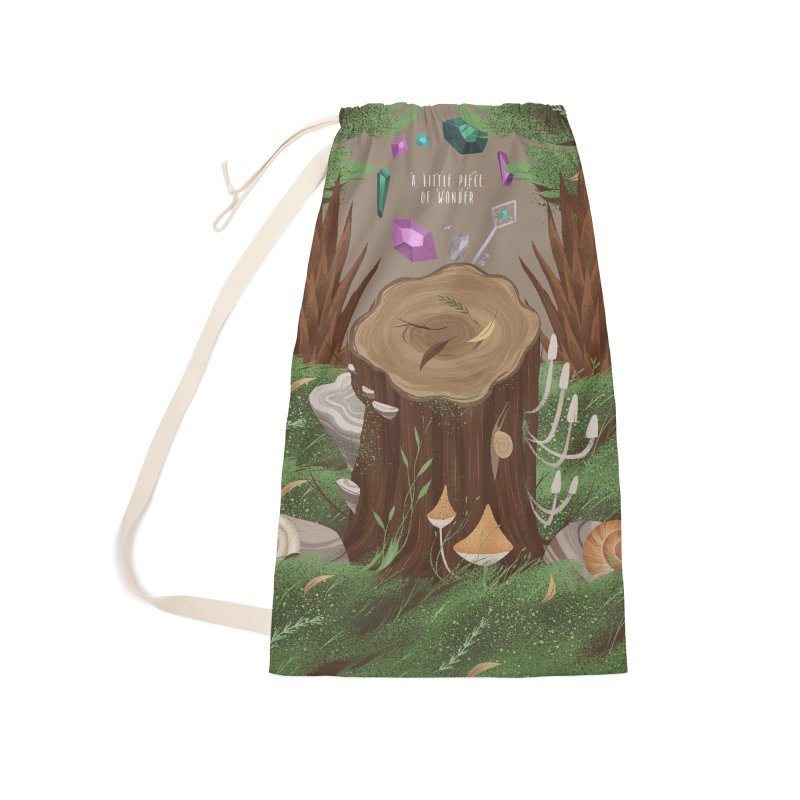 A Little Piece Of Wonder Accessories Laundry Bag Bag by Mountain View Co