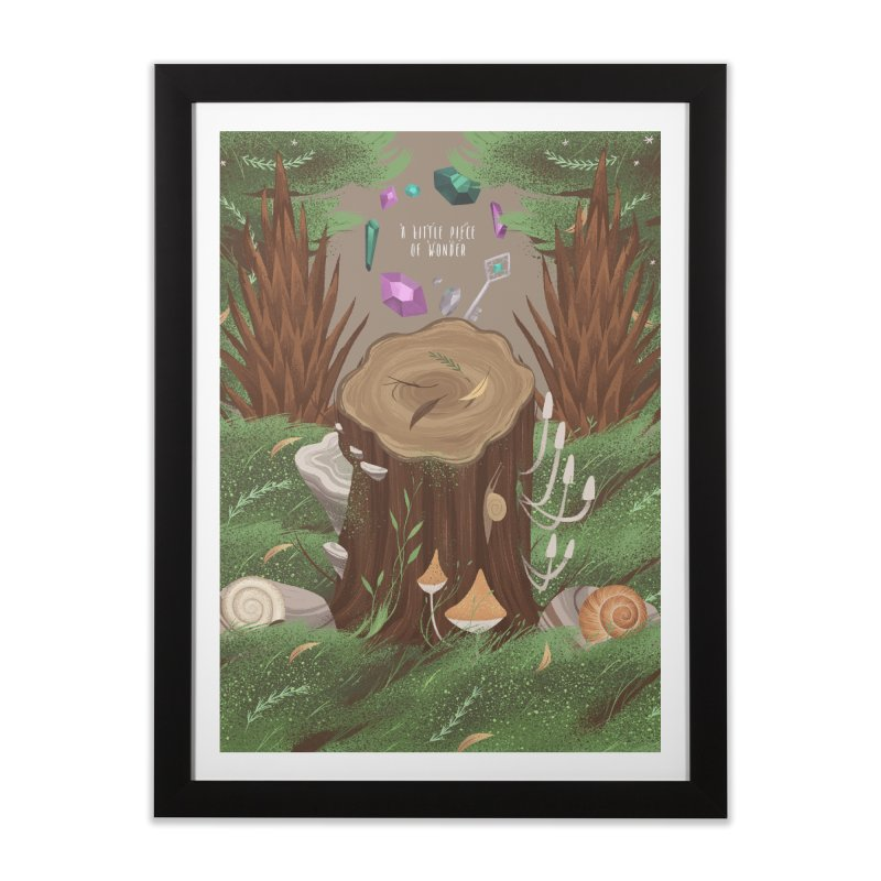 A Little Piece Of Wonder Home Framed Fine Art Print by Mountain View Co