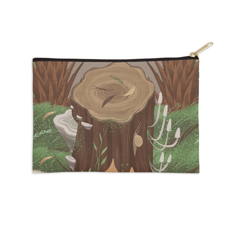 A Little Piece Of Wonder Accessories Zip Pouch by Mountain View Co