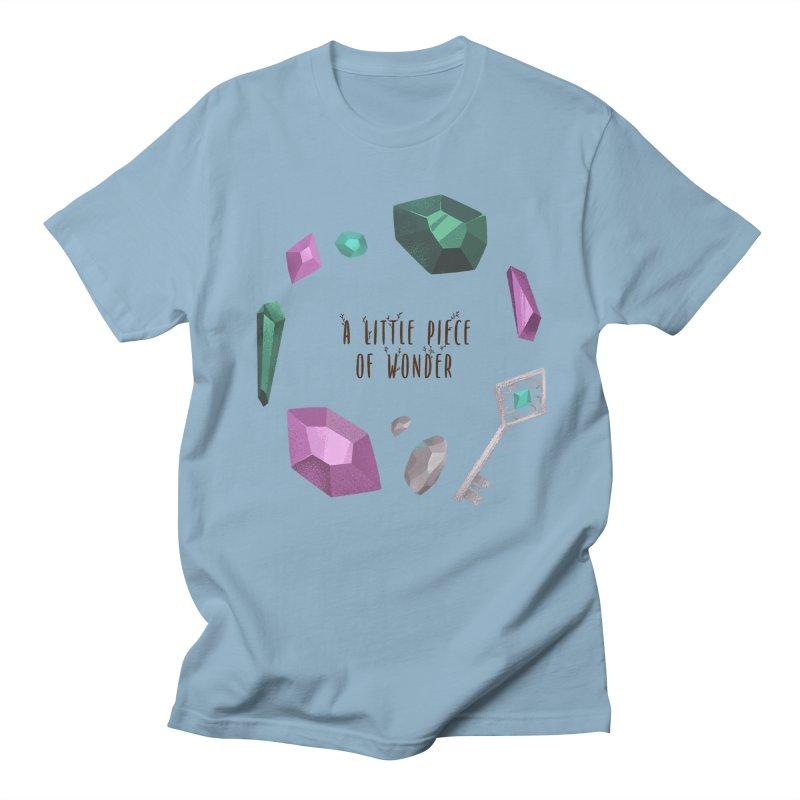 A Little Piece Of Wonder Men's Regular T-Shirt by Mountain View Co