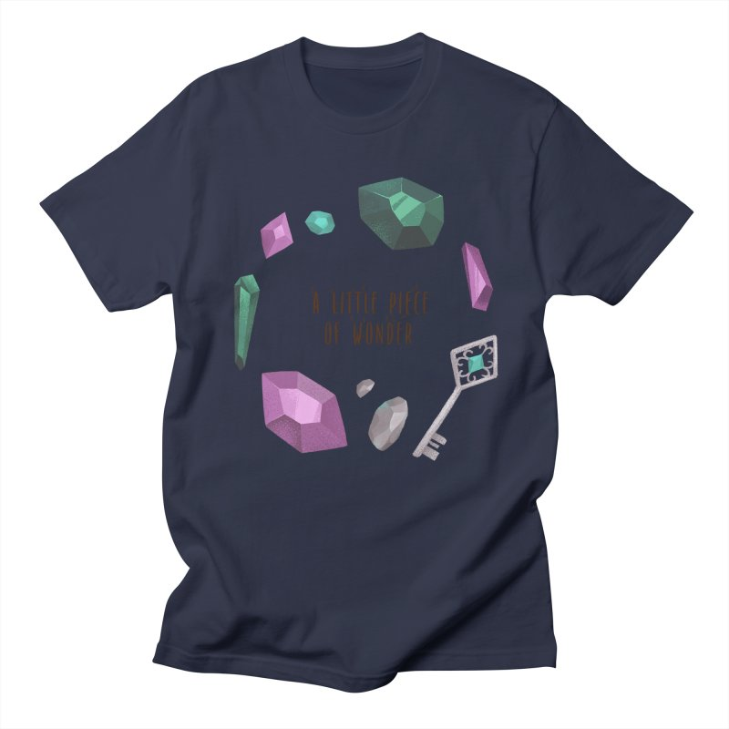 A Little Piece Of Wonder Men's Regular T-Shirt by Mountain View Co