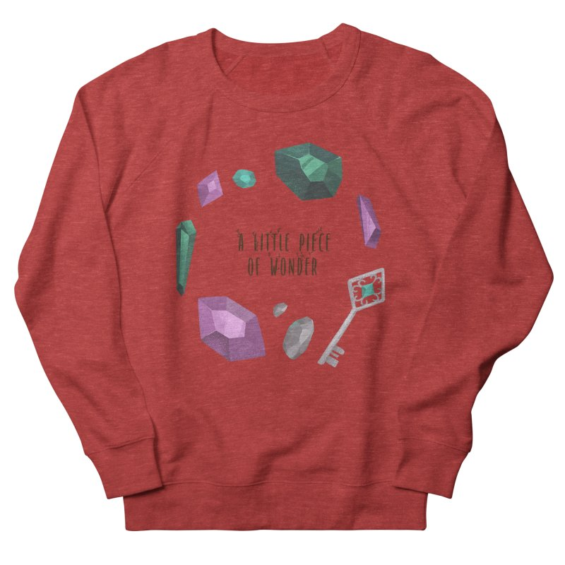 A Little Piece Of Wonder Women's French Terry Sweatshirt by Mountain View Co