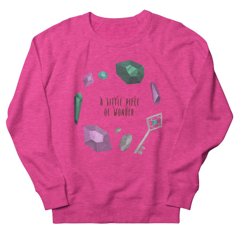 A Little Piece Of Wonder Men's French Terry Sweatshirt by Mountain View Co