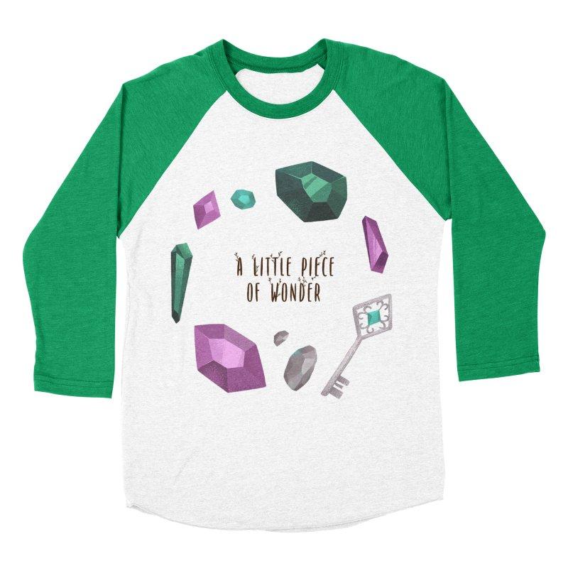 A Little Piece Of Wonder Women's Baseball Triblend Longsleeve T-Shirt by Mountain View Co