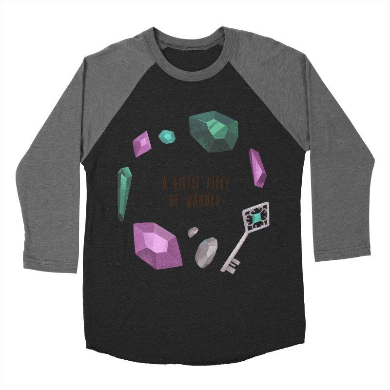 A Little Piece Of Wonder Men's Baseball Triblend Longsleeve T-Shirt by Mountain View Co