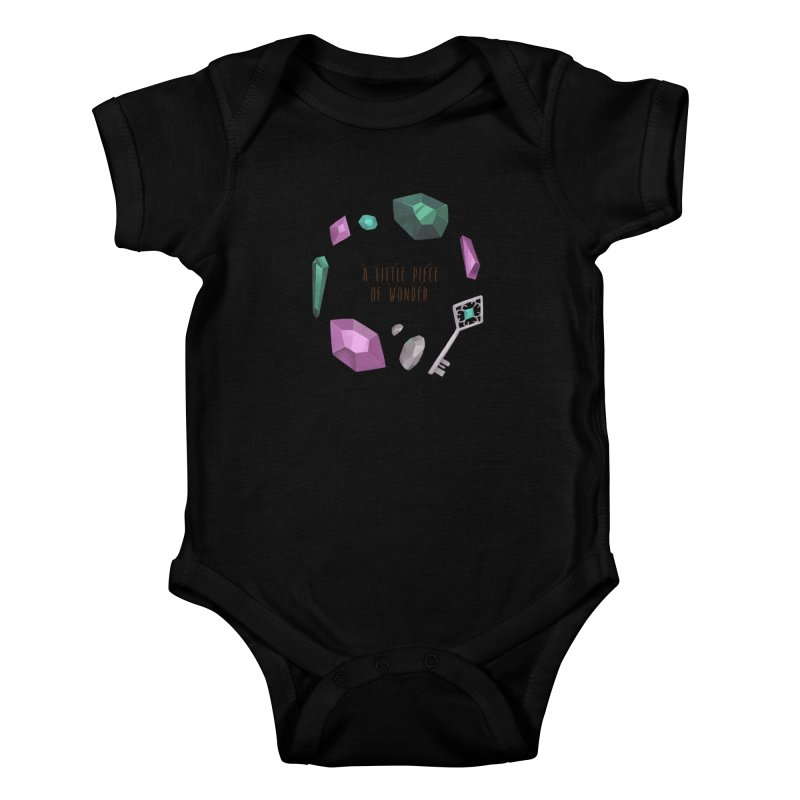 A Little Piece Of Wonder Kids Baby Bodysuit by Mountain View Co