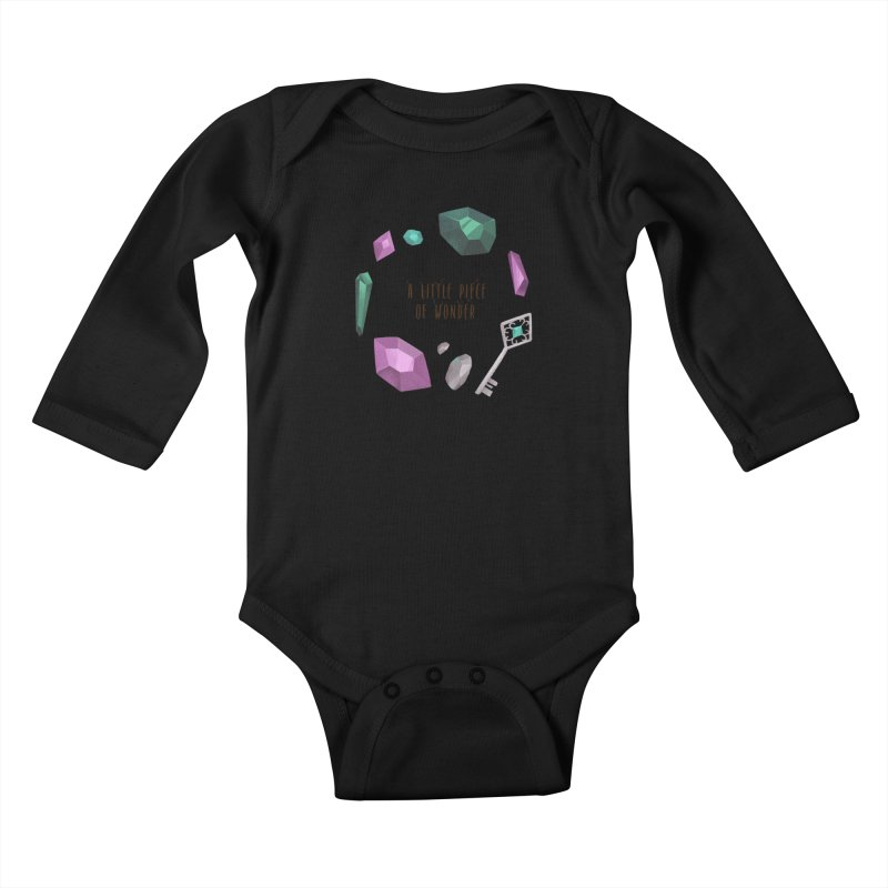 A Little Piece Of Wonder Kids Baby Longsleeve Bodysuit by Mountain View Co