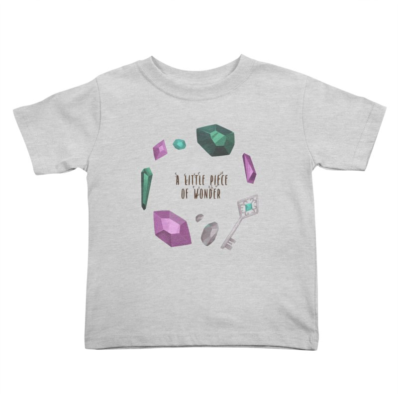 A Little Piece Of Wonder Kids Toddler T-Shirt by Mountain View Co