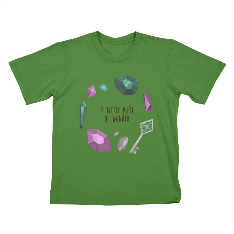A Little Piece Of Wonder Kids T-Shirt by Mountain View Co