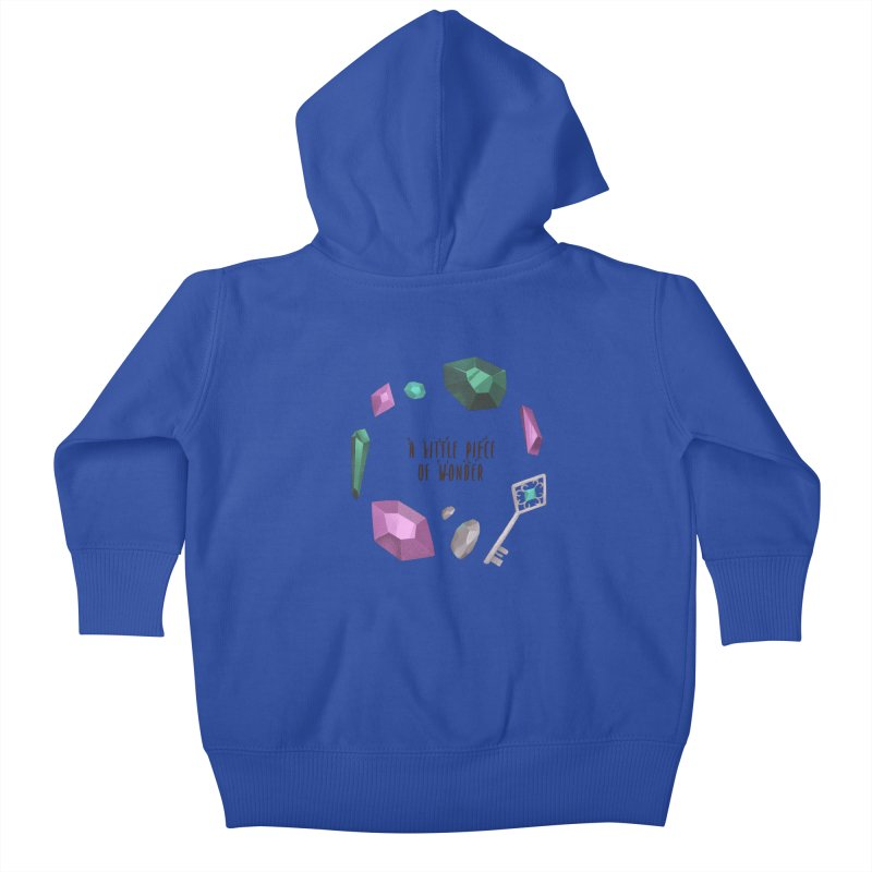 A Little Piece Of Wonder Kids Baby Zip-Up Hoody by Mountain View Co