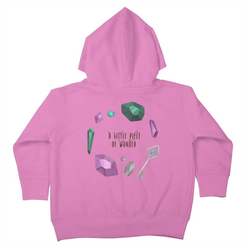 A Little Piece Of Wonder Kids Toddler Zip-Up Hoody by Mountain View Co